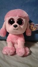 """Ty Beanie Boo - 2011 - Princess the Dog - 6"""" - with hang tag"""