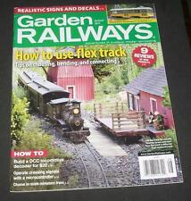 Garden Railways Aug 2014 Make Decals Weathering Isle of Shoals Tramway Solar
