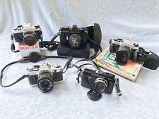 Five Camera Lot, Pentax, Canon, Olympus