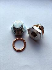 2 x Oil Pan Drain Sump Plug M14x1.25mm + Washers - PN006
