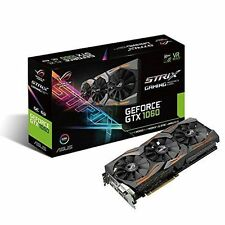 NVIDIA ASUS GeForce GTX 1060 6gb Rog STRIX OC Edition Graphics Card