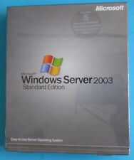 Microsoft Windows Server 2003 Standard P73-00001  5 CAL open NO CD