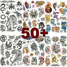 6 Sheets Unisex Tiger Temporary Tattoo Tattoos