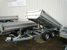 Saris PK Compact (PKC) 20 2000 kg - 270x150 PKW-Anhänger trailer Alu Kipper