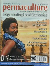Permaculture North America Summer 2017 Regenerate Local Economy FREE SHIPPING sb