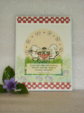 """Dayspring Cards Plaque 6 1/4"""" X 8 1/4"""" New Love Each Other Romans 12:10"""