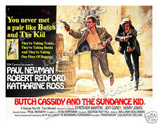 BUTCH CASSIDY AND THE SUNDANCE KID LOBBY CARD POSTER BQ 1969 REDFORD NEWMAN ROSS