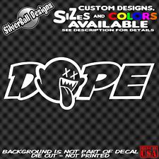 Dope Boo Custom Vinyl Decal Sticker Car Truck Window Nintendo JDM drift illest