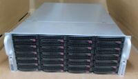 Supermicro SuperChassis CSE-848 4x E5-4650v2 128GB Ram X9QRI-F+ 24x Bay Server