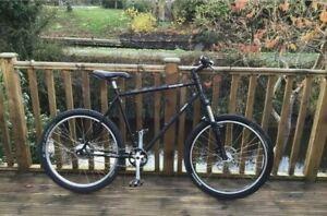 Rohloff Thorn Sterling Adventure  853 reynolds steelMountain / Touring Bike