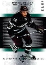 2005-06 UD Ultimate Collection #193 Dustin Penner