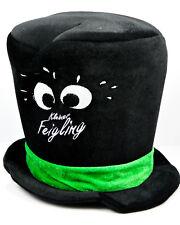 Kleiner Feigling Likör, LED Zylinder, Hut, schwarze Ausführung, groß, Partyhut