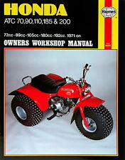 Haynes Manual 0565 - Honda ATC70, ATC90, ATC110, ATC185 and ATC200 (71 - 85)