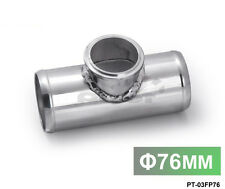 """Blow Off Valve Flange Adapter T Mounting Pipe 76mm 3"""" Fit For 50mm Bov"""
