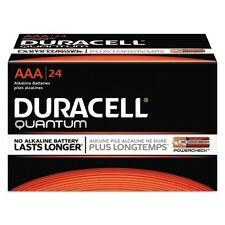 Duracell Quantum Alkaline Aaa Batteries - Qu2400Bkd