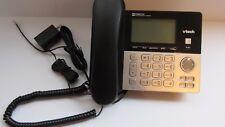 VTech CS6949 Main Console Corded Phone w Digital Answering System Black EUC