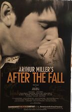Peter Krause + Cast Signed AFTER THE FALL Broadway Poster Windowcard