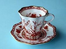 Coalport Bone China Indian Tree Coral Coffee Cup and  Saucer