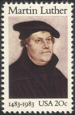 USA 1983 Martin Luther/Protestant Reformer/Reform/People/Religion 1v (n44822)
