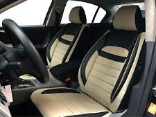 Fundas para asientos ya referencias para SEAT Toledo negro-beige v2525256 delanteros