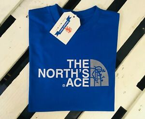 RETRO STYLE GLASGOW RANGERS TEE SHIRT 55 TITLES LEAGUE CHAMPIONS NO SURRENDER