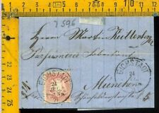 Germania Germany cover envelope Bayern I 596