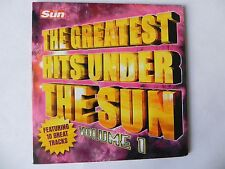 THE GREATEST HITS UNDER THE SUN VOL 1 PROMO CD STONE ROSES THE FARM ASWAD + MORE