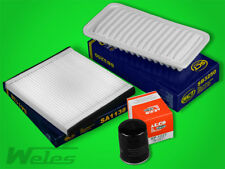Paquete de inspección Toyota Avensis t25 2.0 d-4d aire-polen-petróleo-diesel filtro
