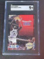 1992 Skybox #382 Shaquille O'Neal SGC 9 Newly Graded RC Rookie