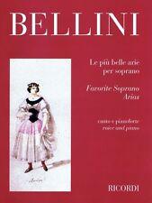 Favorite Soprano Arias Soprano and Piano Vocal Solo Book NEW 050486994