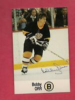 1988-89 BOSTON BRUINS BOBBY ORR   ESSO  EX-MT OR BETTER CARD