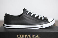 Zapatillas deportivas de mujer Converse en piel color principal negro