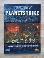 Warhammer 40,000 Planetstrike Campaign Book - Games Workshop 2009 OOP
