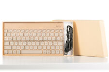 Aluminium Bluetooth Universial Keyboard with 7-colour Backlight for Android IOS