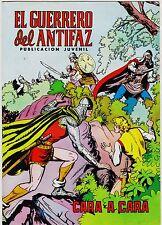EL GUERRERO DEL ANTIFAZ (Reedición color) nº: 107.  Valenciana, 1972-1978.