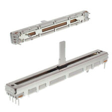 ALPS slide Fader RS6011DP 10K ohm log travel: 60mm total: 75mm pot potentiometer