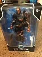 "McFarlane DC Multiverse Batman Arkham Origins Deathstroke 7"" Action Figure new"