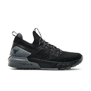 2021Hot Black Under Armour Men's UA Project Rock 3 Training Shoes Dwayne Johnson