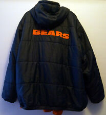Vintage Chicago Bears Warm NFL Pro Line Winter Jacket Fleece Interior Men 2XL