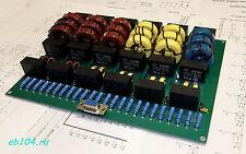 LPF diplexer 1.8 - 30 MHz 1200W 1.2KW SSB CW HF amplifier LDMOS MOSFET RM Italy