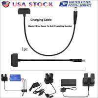 For DJI MAVIC 2 To DJI CrystalSky Monitor 5.5/7.85'' Adapter Charging Cable US