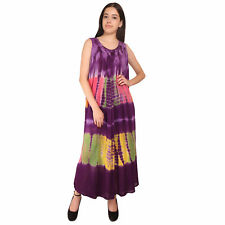 Abstract Women's Long Kaftan Nightwear Dress Maxi Free Size Dresses
