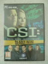 21046 - CSI Crime Scene Investigation Deadly Intent [NEW & SEALED] - PC (200