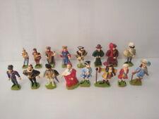 Rare série complète complète 16 figurines Starlux plastique Les rois de France