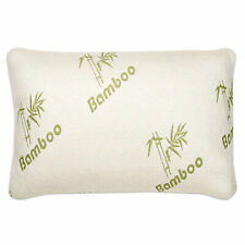 The Original Memory Foam Bamboo Pillow With Removable Zippered Pillow Case