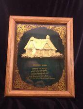 "Miller Studio # 871 Picture  shadow box "" An Irish Wish"""