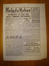 MELODY MAKER 1946 #692 JAZZ SWING SKYROCKETS PREAGER