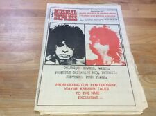 NME 1977 MC5 , Clash Strummer Etc
