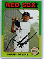 Rafael Devers 2019 Topps Archives 5x7 Gold #147 /10 Red Sox