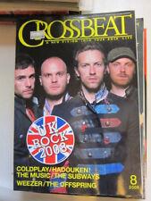 Crossbeat 8/08 Coldplay Hadouken Weezer Offspring Subways My Morning Jacket